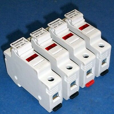 Bussmann 30A, 600V Single Pole Fuseholder Chcc1Di *lot Of 4*