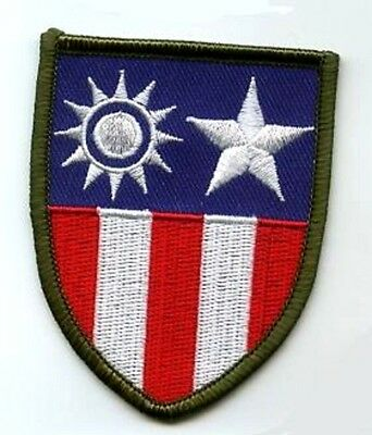 Wwii Us Army Airforce Avg Flying Tigers China Burma India Cbi Theater Patch