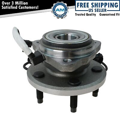 TRQ Front Wheel Hub & Bearing for Ford Ranger Mazda Pickup Truck 4WD 4x4 w/ABS