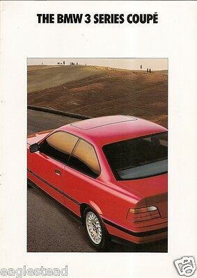 Auto Brochure - BMW - 3 Series Coupe - 1992 (AB191)