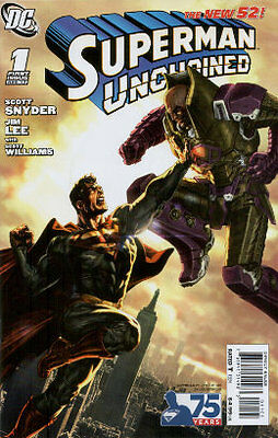 Superman Unchained 1 75th Anniversary Variant Luthor Cover Bermejo
