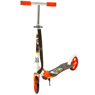 Scooter Roller Tretroller Cityroller Kinderroller klappbar 205 mm Wheel orange