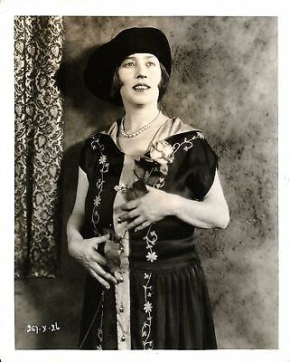 """POLLY MORAN (uncredited) in """"The Auction Block"""" Orig. PORTRAIT 1926 SILENT MOVIE"""