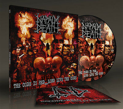 NAPALM DEATH - the code is red ... long live the code, Picture Vinyl LP, NEW