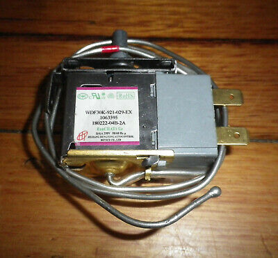 Westinghouse Asian Bar Fridge Thermostat - Part # 1401192, WDF30K-245-AU-EX