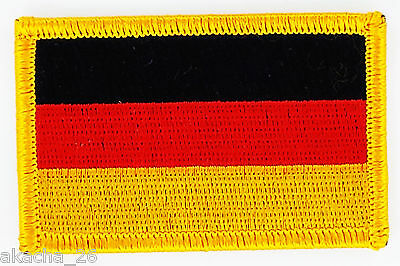 Patch Ecusson Brode Drapeau Allemagne Insigne Thermocollant Neuf Flag Patche