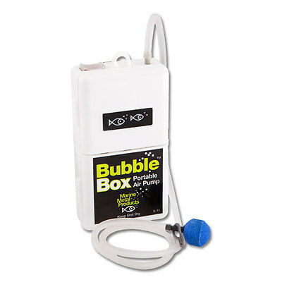 Aerator Marine Metal Bubble  Live Well  Air Pump For Bait 4 Minnow B-11