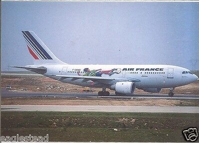 Airline Postcard - Air France - A310 200 - F-GEMD World Cup 98 Livery (P3225)