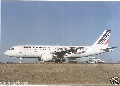 Airline Postcard - Air France - A320 211 - F-GFKH - World Cup 98 Livery (P3227)