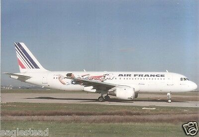 Airline Postcard - Air France - A320 211 - F-GHQF - World Cup 98 Livery (P3229)