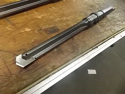 """AME 1.125"""" x 8.0"""" Spade Drill #4 Morse Taper Coolant Induced Shank"""
