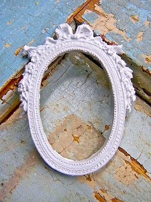 SHABBY n CHIC ARCHITECTURAL BOW FRAME * FURNITURE APPLIQUES