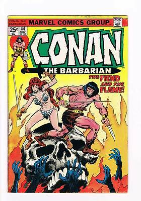 Conan # 44  The Fiend & the Flame grade 5.5 super scarce hot book !!