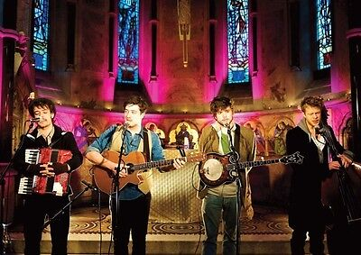 Mumford and Sons Awesome Church POSTER
