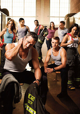Chicago Fire Awesome Cast POSTER