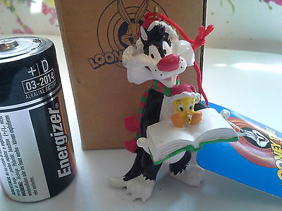 Avon Vintage 1998 Looney Tunes Ornament Sylvester & Tweety-New-Ships In 1 Day