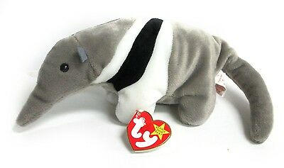 Ants The Anteater Beanie Baby Plush Toy/5G Hang Tag/PE Pellets/217 Stamp/1997 Ty