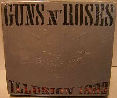 Guns N' Roses - Illusion '93- 2Cd Live Digipack Con Siae- Deluxe Edition Mint!!!