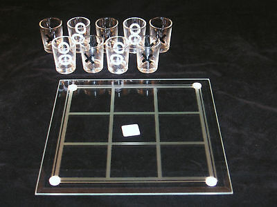 how to play tic tac toe drinking game