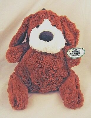 Brown Puppy Dog Plush Stuffed Animal kids childs Backpack NEW FREE SHIPPING