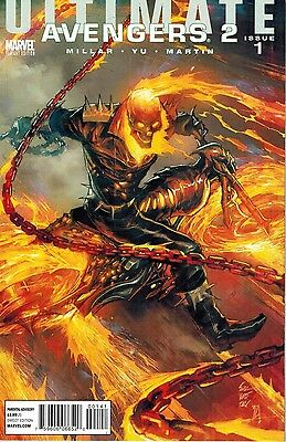 Ultimate Avengers 2 #1 Marc Silvestri Ghost Rider Variant