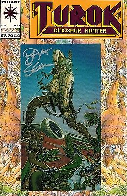Turok: Dinosaur Hunter #1 Bart Sears Signed Variant