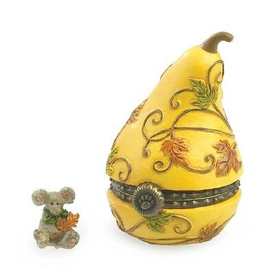 Boyds 2013 Aubrey's Gourd with Oakley McNibble Ghourd Treasure Box 4035823