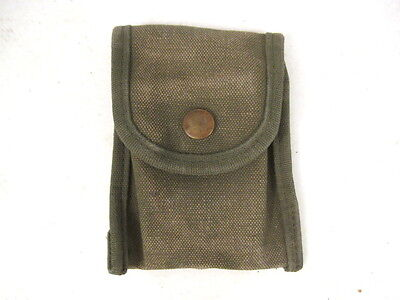 Vietnam Era M1956 Canvas First Aid Kit or Compass Pouch -  Dated Early 1960's
