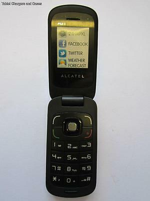 Alcatel OT-668 One Touch Black Flip Shop Display Dummy Kids Toy Joke Phone