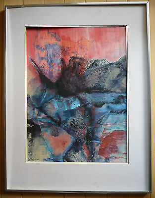 $249 OR BEST! Vintage MYSTERY Modern modernism modernist abstraction colorism