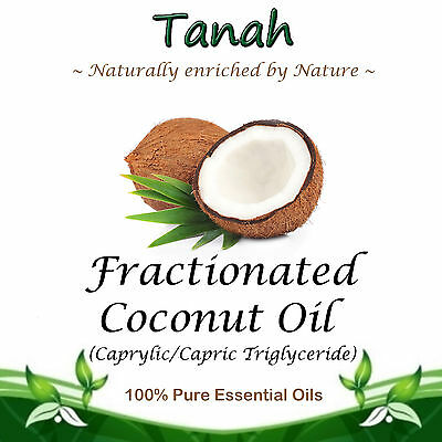 FRACTIONATED COCONUT OIL (LIQUID)  ~ 100% Pure ~ Natural ~ Base/Carrier Oil ~