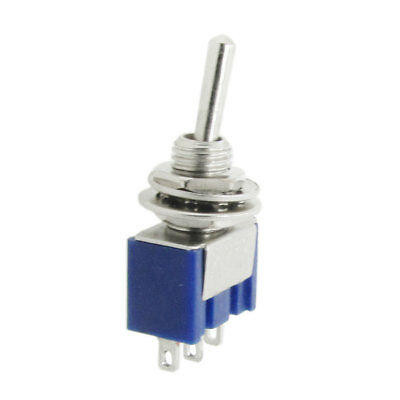 8 Pcs AC 125V 6A ON/OFF/ON 3 Position 3 Terminals Mini SPDT Toggle Switch