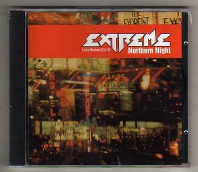 EXTREME - NORTHERN NIGHT - CD LIVE MONTREAL '92  NO CDr RARO SEALED MINT