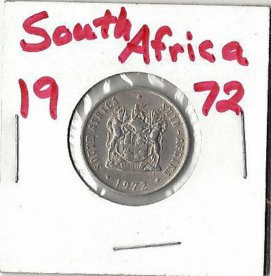 South Africa 1972 10 Cent Suid Coin
