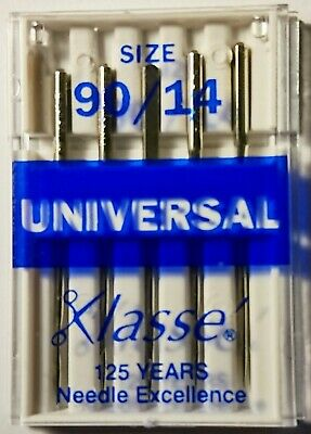 Klasse Universal Machine Needles 90/14 Sewing Machine Needles