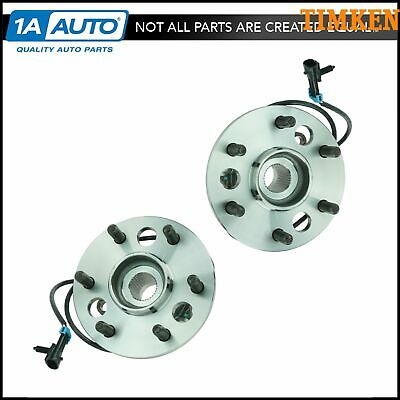 TIMKEN SP550307 4WD Front Wheel Bearing & Hub Pair w/ ABS For Chevy Pickup Truck