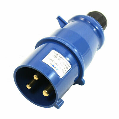 AC220V-240V/32A Single Phase IEC309-2 Splash Proof Mains Male