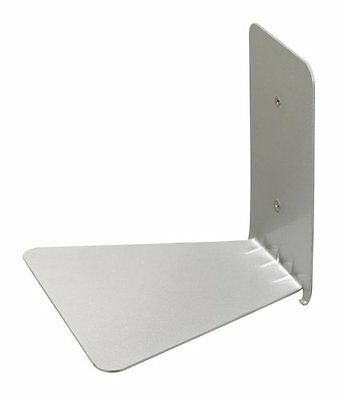 CONCEAL Invisible Floating Book Shelf SMALL SILVER ORIGINAL umbra 330637-560