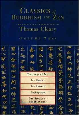 Classics of Buddhism and ZEN: v. 2: The Collected Trans - Paperback NEW Cleary,