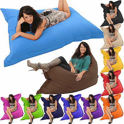 Bean Bag Giant Indoor/Outdoor Beanbag XXL beanbags Water Resistant Cushion Gilda