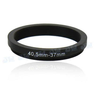 40.5-37mm Step-Down Metal Adapter Ring/40.5mm Lens to 37 mm UV CPL Accessory