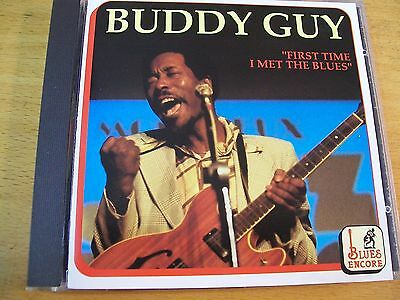 Buddy Guy First Time I Met The Blues  Cd Mint-