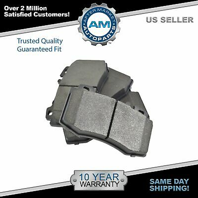 Nakamoto Front /& Rear Ceramic Disc Brake Pad Set for Chevy Pontiac Olds New