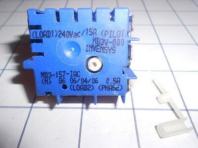 Dual Hot Plate /spilt Griller Switch  Mdp 102 Or Md3 157 Suits Chef ,simpson,