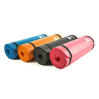 XS Sports Premium 15mm Yoga Exercise Mat-Fitness Aerobic Gym Pilates Camping