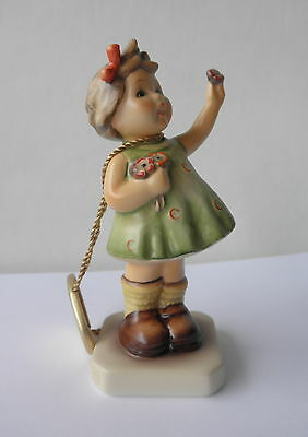 "M.I. Hummel Club Figurine: FOREVER YOURS #793 Girl w/Posie & Tag~~4 1/4"" Tall"