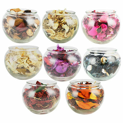 Scented Pot Pourri Filled Fish Bowl - Gift Wrapped - Fresh Fragrance / Aroma