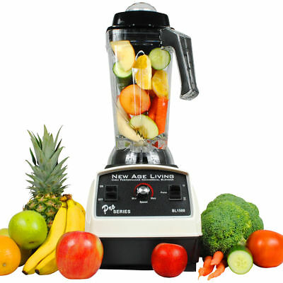 New 3Hp High Performance Pro Commercial Fruit Smoothie Blender Mixer Juicer !