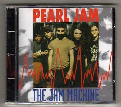 PEARL JAM - THE JAM MACHINE - CD LIVE in USA 1994 - NO CDr RARO SEALED MINT