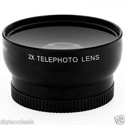 Vivitar 2x Professional High Definition Auto Focus Telephoto Lens 58MM V-58T